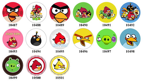 Angry Birds 10487-10501