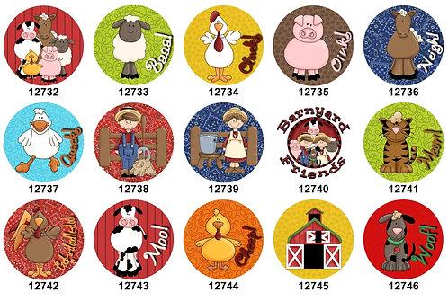 EIEIO Farm Animals 12732-12746