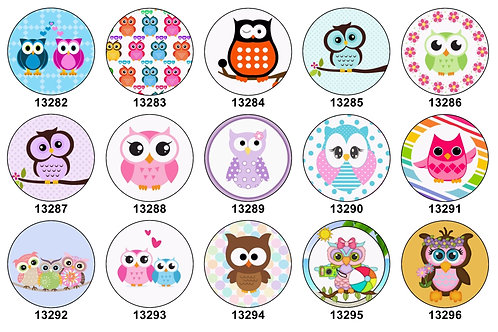 Super Cute Owls 13282-13296