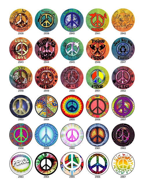 Peace Sign Collection 2