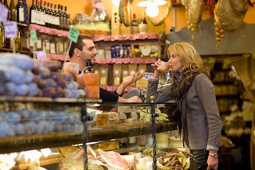 Italian Deli Shopping
