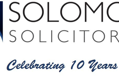 Solomons Solicitors Charity Wills Scheme 2019