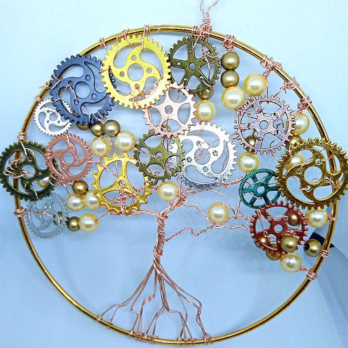 Large Steampunk tree of life
