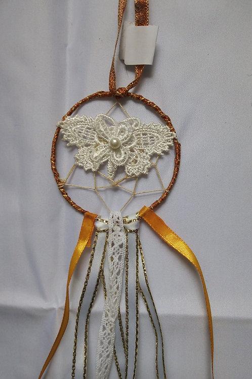 Golden Butterfly Dreamcatcher