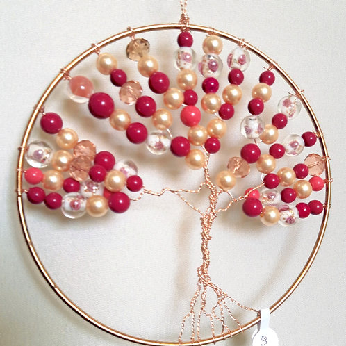 "6"" Pink/Pearl Tree"