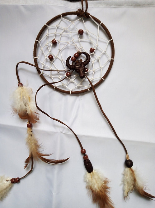 Buffalo Head Dreamcatcher