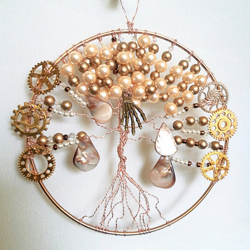 "6"" Pearl Steampunk Tree"