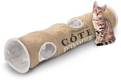 Cat Tunnel en jute