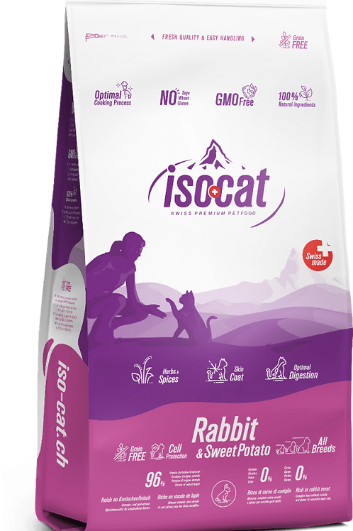 Iso-Cat Grain Free Rabbit & Sweet Potato