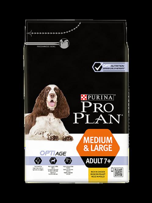ProPlan Medium & Large Adult 7+ - Poulet