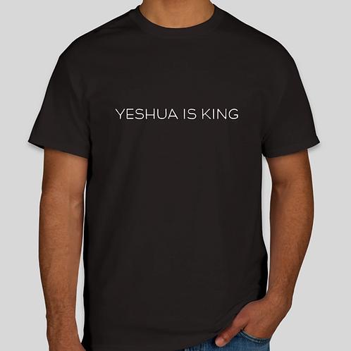 "Modern ""Yeshua is King"" Male T-Shirt"