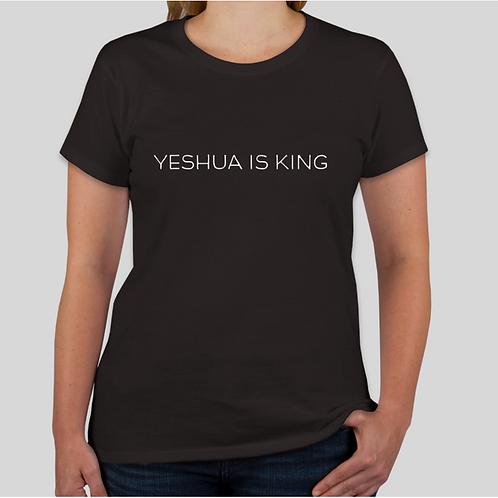 """Modern """"Yeshua is King"""" Female T-Shirt"""