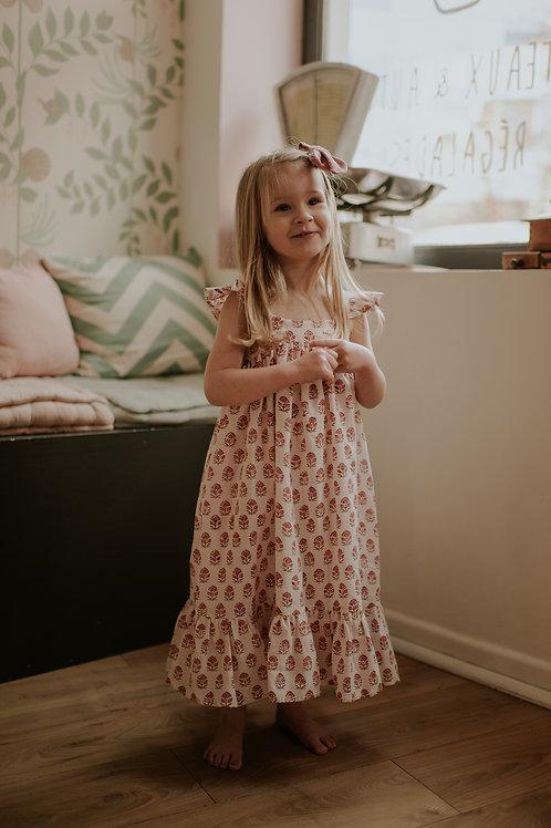 Robe Elisette, fleur
