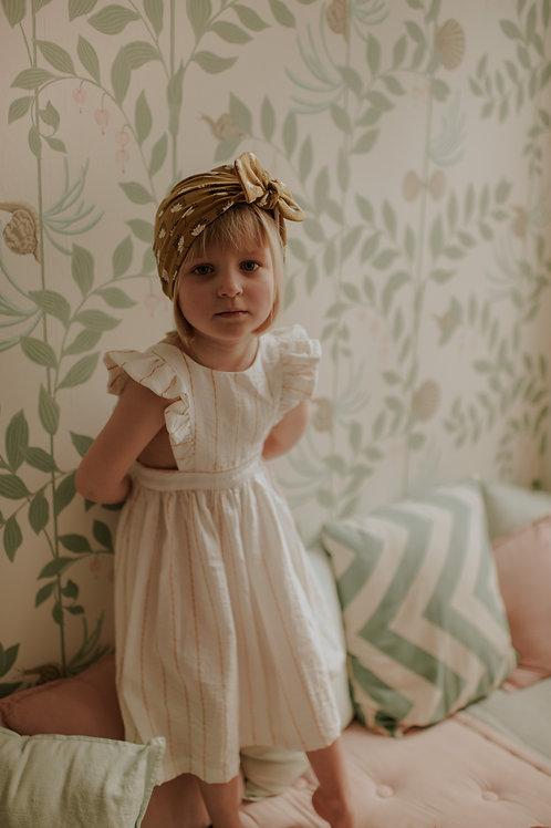 Clémentina, robe rayée