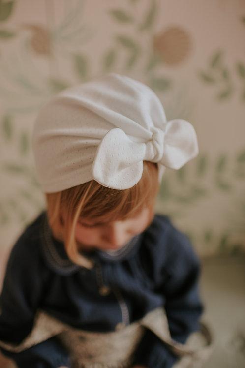 Turban, blanc