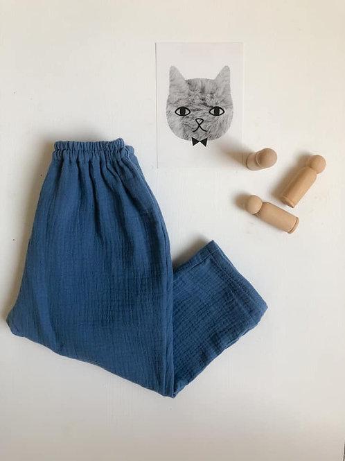 Pantalon Lucien, bleu