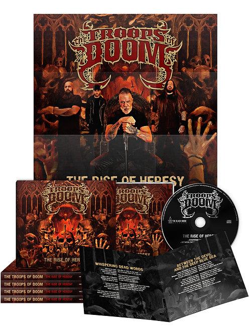 """The Rise of Heresy"" (CD Slipcase/Caixa Acrílica)"