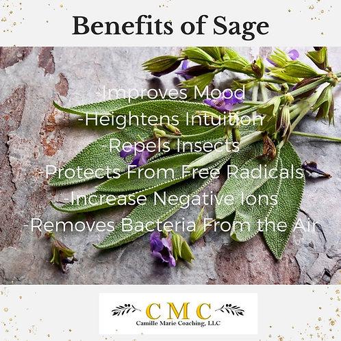 Sage and Flower Smudge Bundles