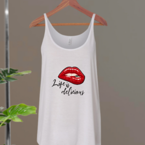 Life Is Delicious Tank