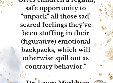 How to Help Your Children to Let Go of Unwanted Emotions