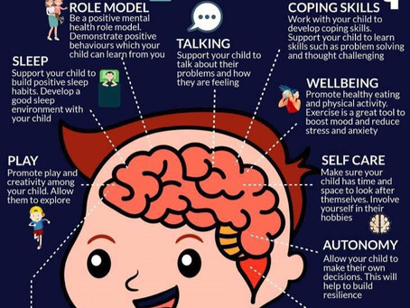 10 Ways To Help Your Child Look After Their Mental Health
