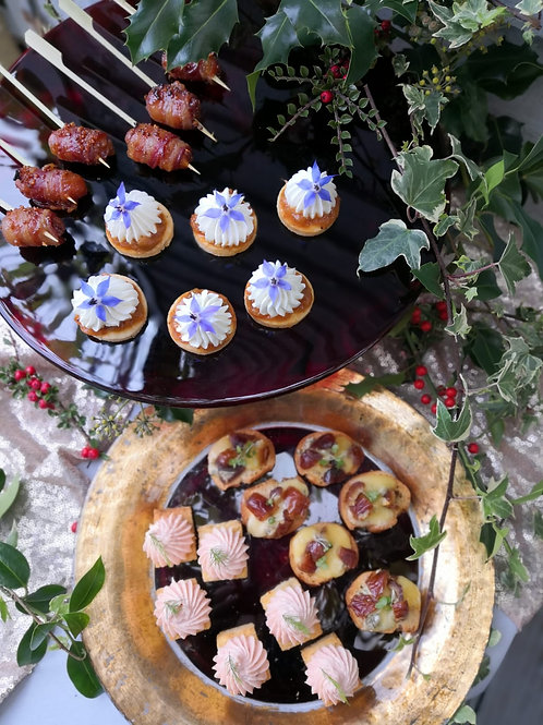 Create your own Christmas Canapés for 2-6