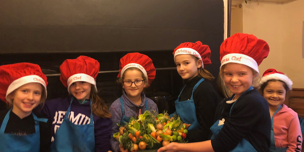 Childrens Christmas Cookery Pop Up
