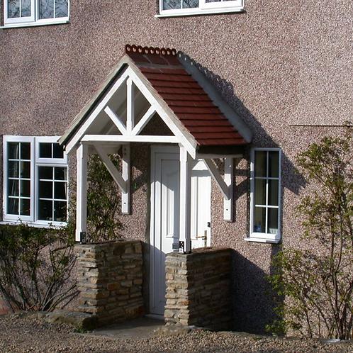 Hampton Apex Style Porch Canopy
