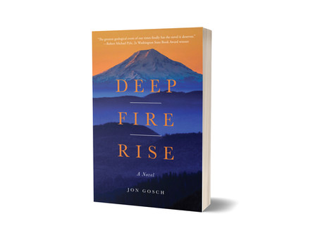 Deep Fire Rise excerpted in Spokesman-Review for 40th eruption anniversary of Mount St. Helens