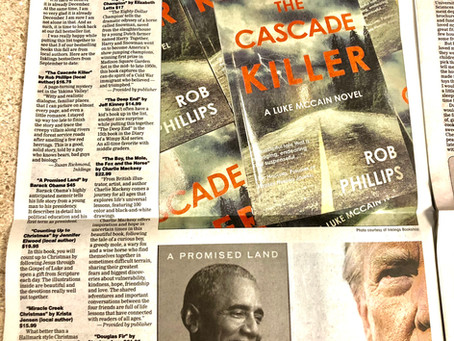The Cascade Killer is the Bestselling Book at Inklings Bookshop