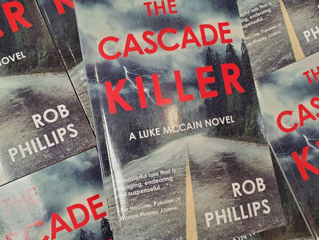The Cascade Killer reviewed by Yakima Herald-Republic: Clever Mystery Makes Cascades a Character