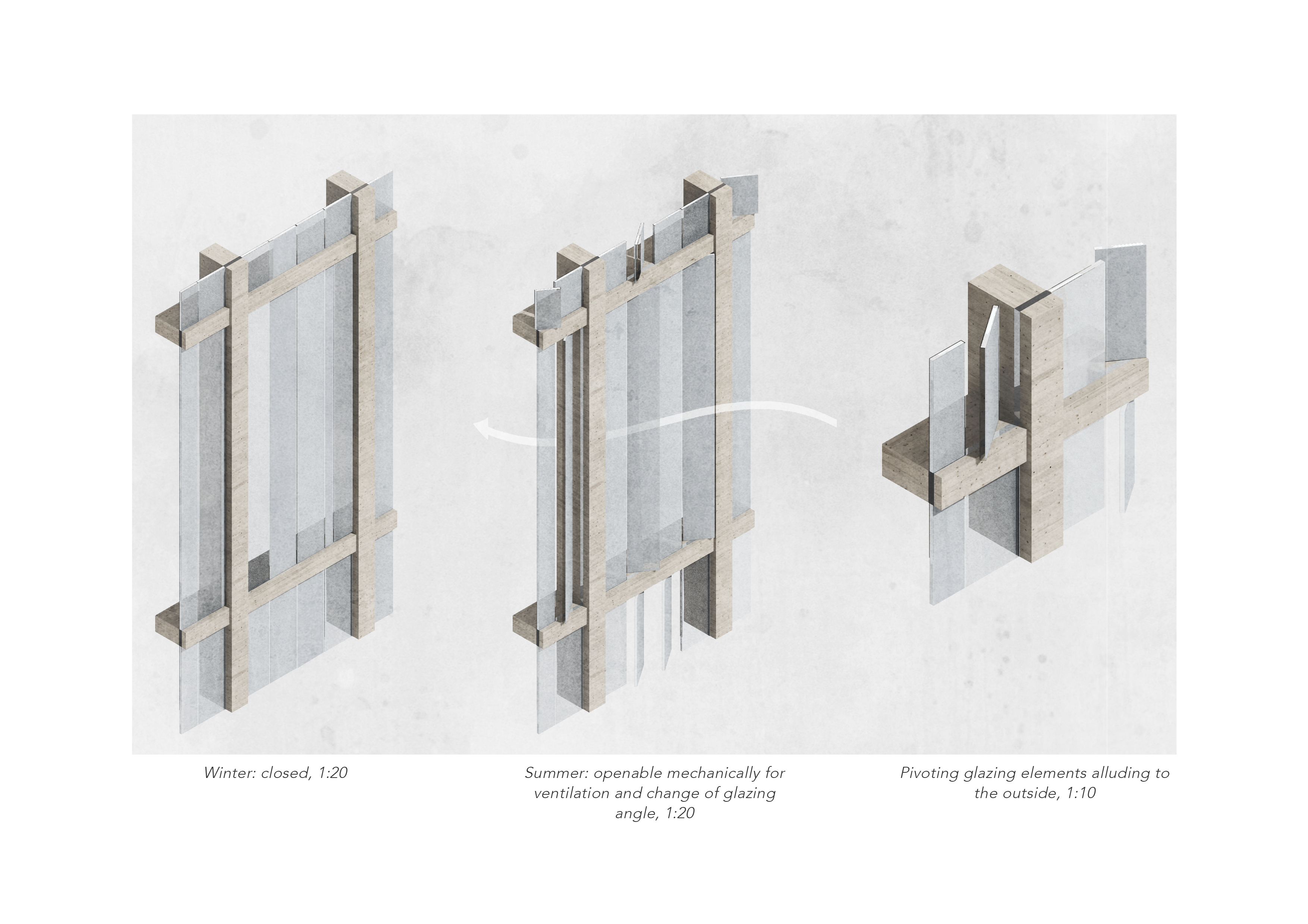Facade ventilation system