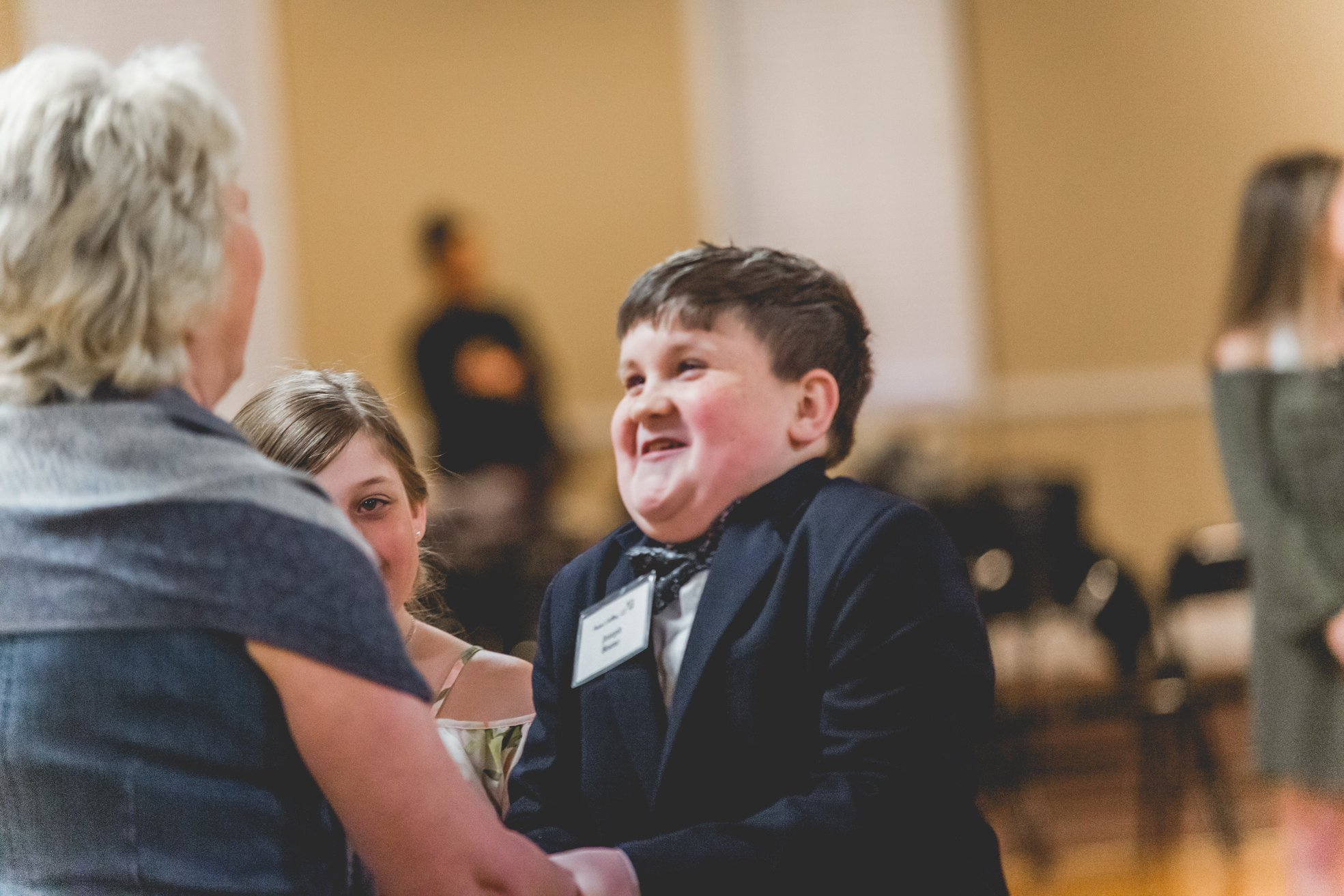 This young man makes everyone smile