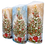 Christmas Tree decorated Candle - 60Hrs