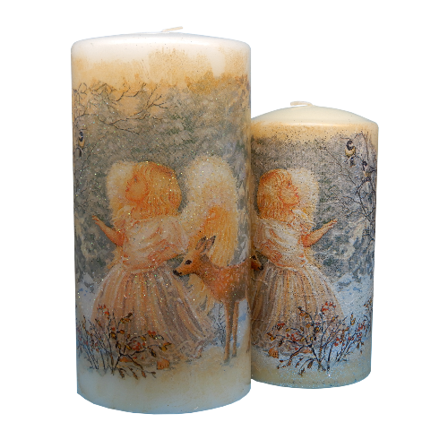Beautiful fairy wish decorative candles