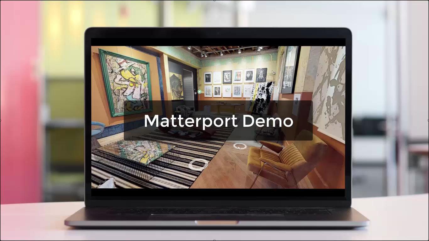 Spacer Matterport prezentacja - demo