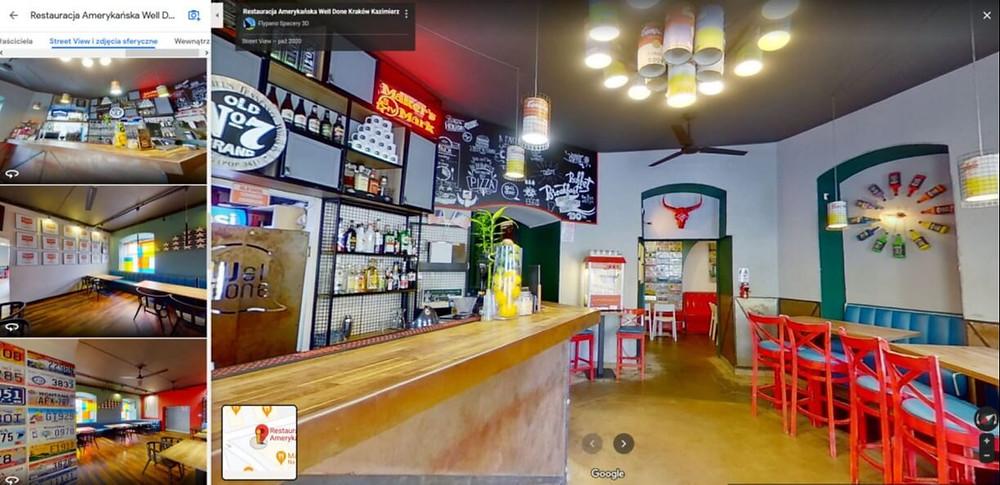 wirtualny spacer restauracja