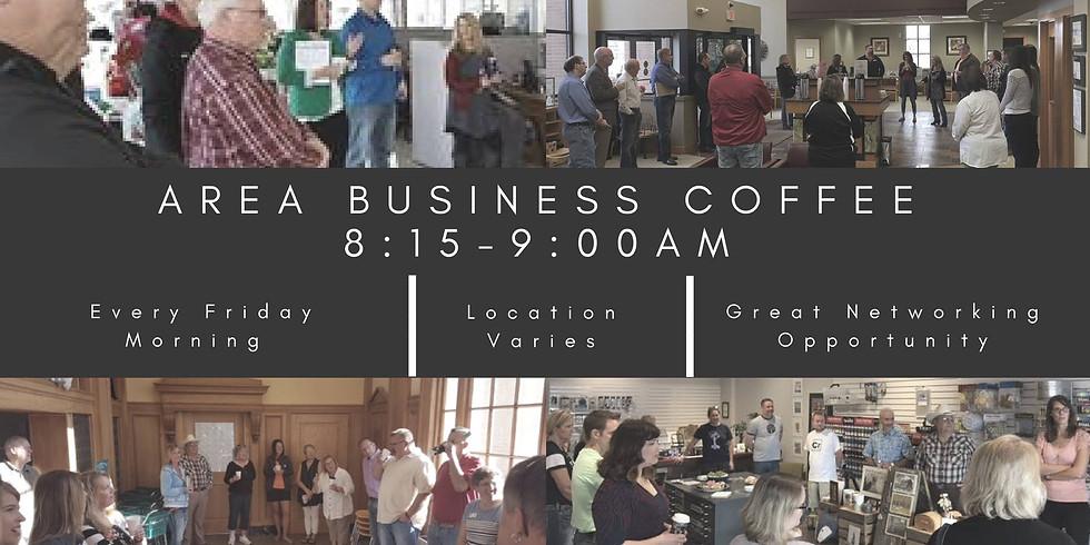 Area Business Coffee