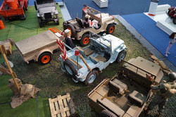 75 years Willys Jeep _ Autoworld Brussels
