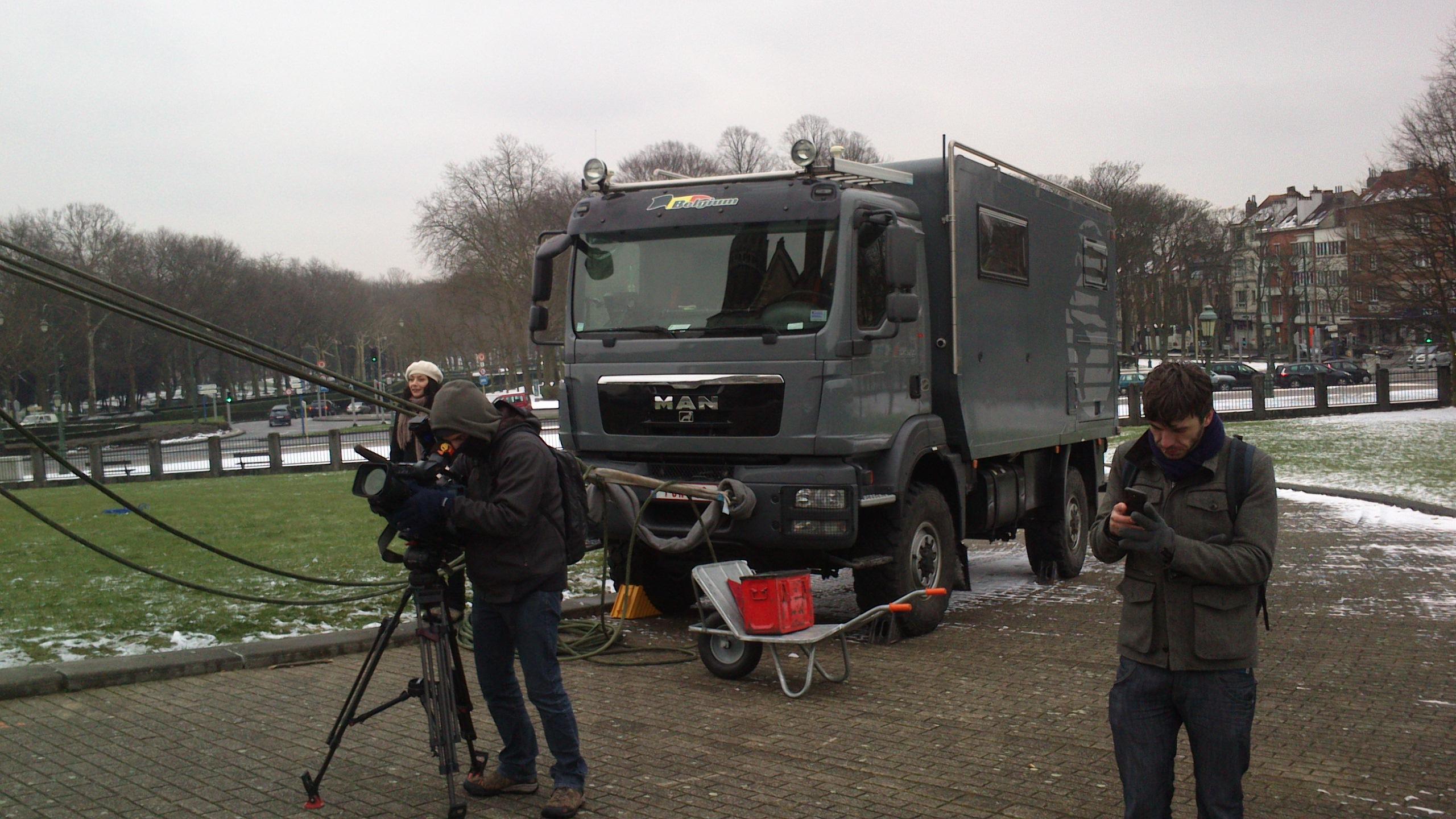Tv show Koekelberg Belgium