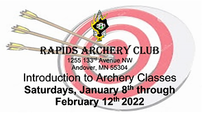 Saturdays January 8th - February 12th, 2022