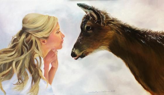 Mia and Deer