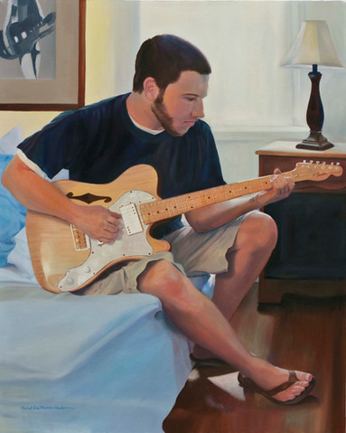 Steven and Guitar