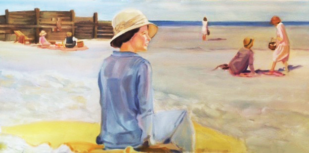 Victorian Beach Day