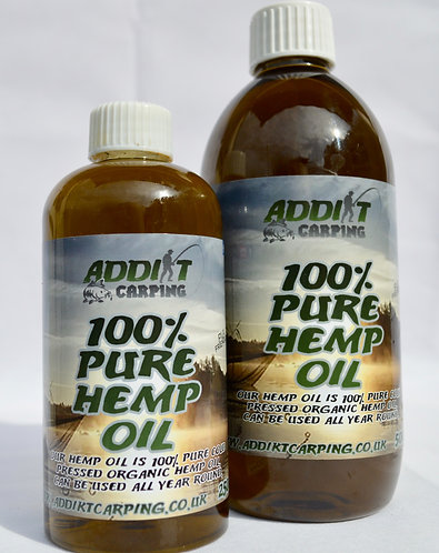 100% PURE HEMP OIL