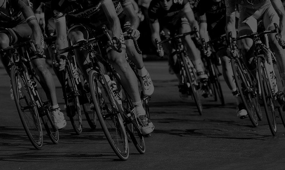 Riders racing Road Bikes