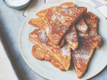 Vegan chai French toast recipe