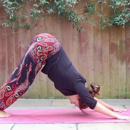 What is downward-facing dog?