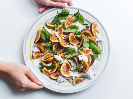 Fig and mozzarella salad recipe