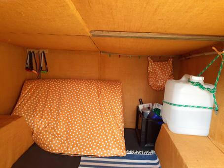 The Stealth Camper Build-Part 2: Interior